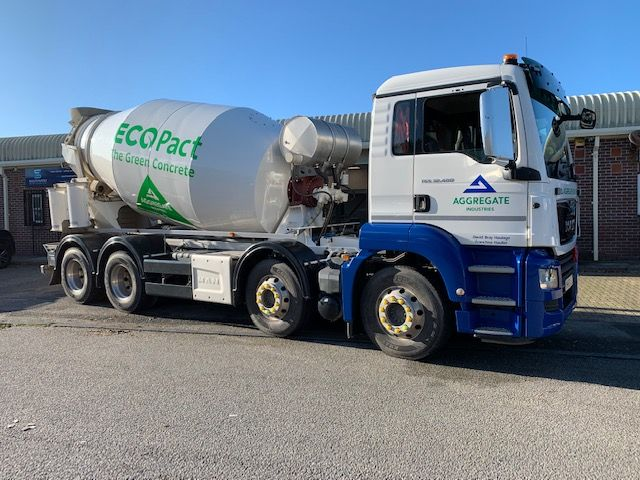 ECOPact McPhee Mixer Truck for Aggregate Industries