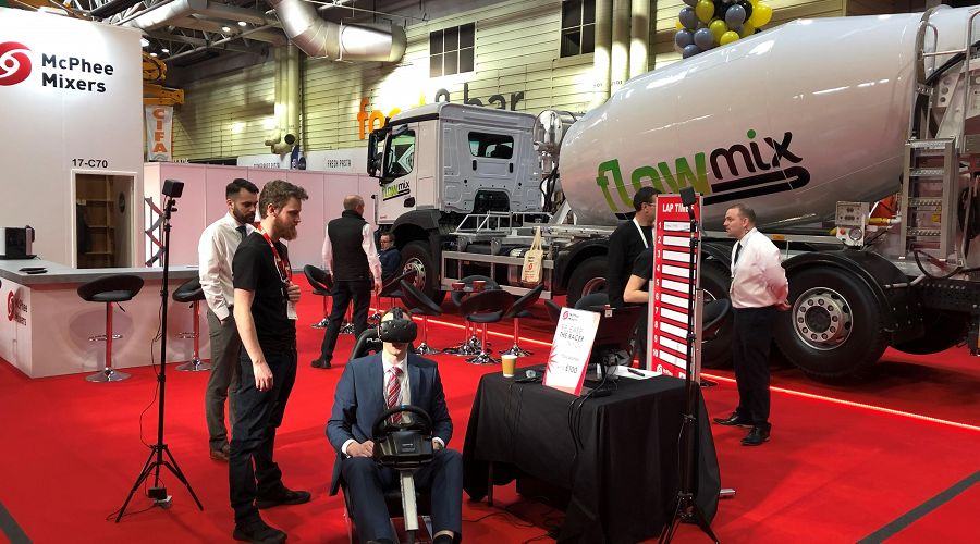 Overflow of success at the UK Concrete Show